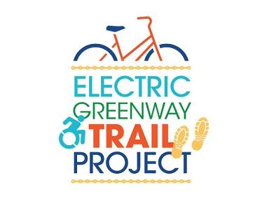 Electric Greenway Trail Project Logo