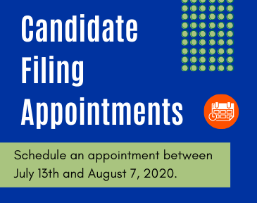 Candidate Filing Appointments Graphic
