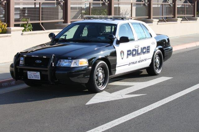 Picture of Citrus Heights Police Department Patrol Car