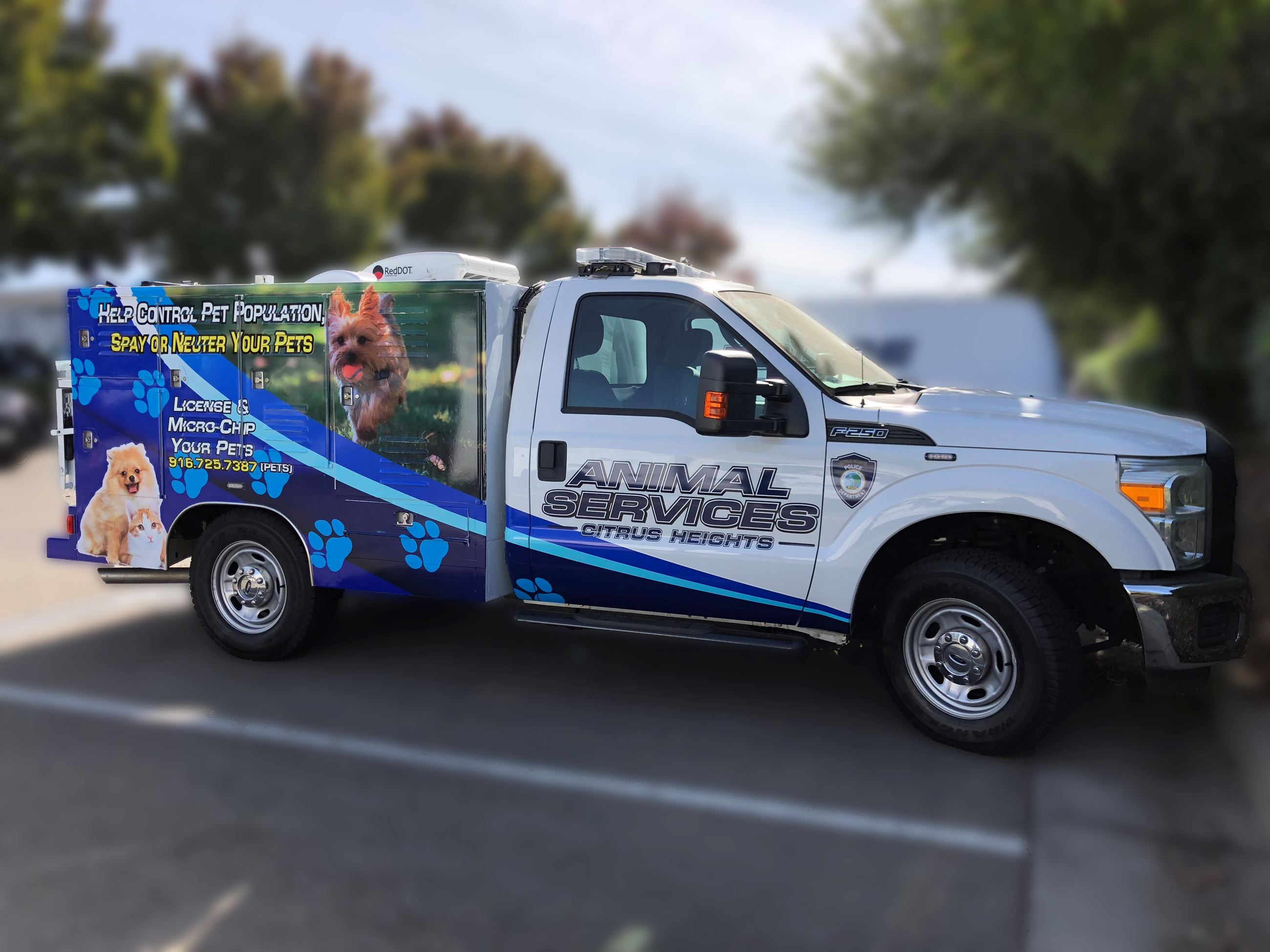 Animal Services Truck